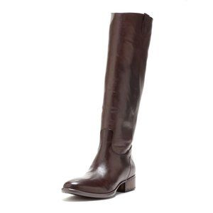 Donald Pliner Tall Leather Riding Boots Prima 10 M